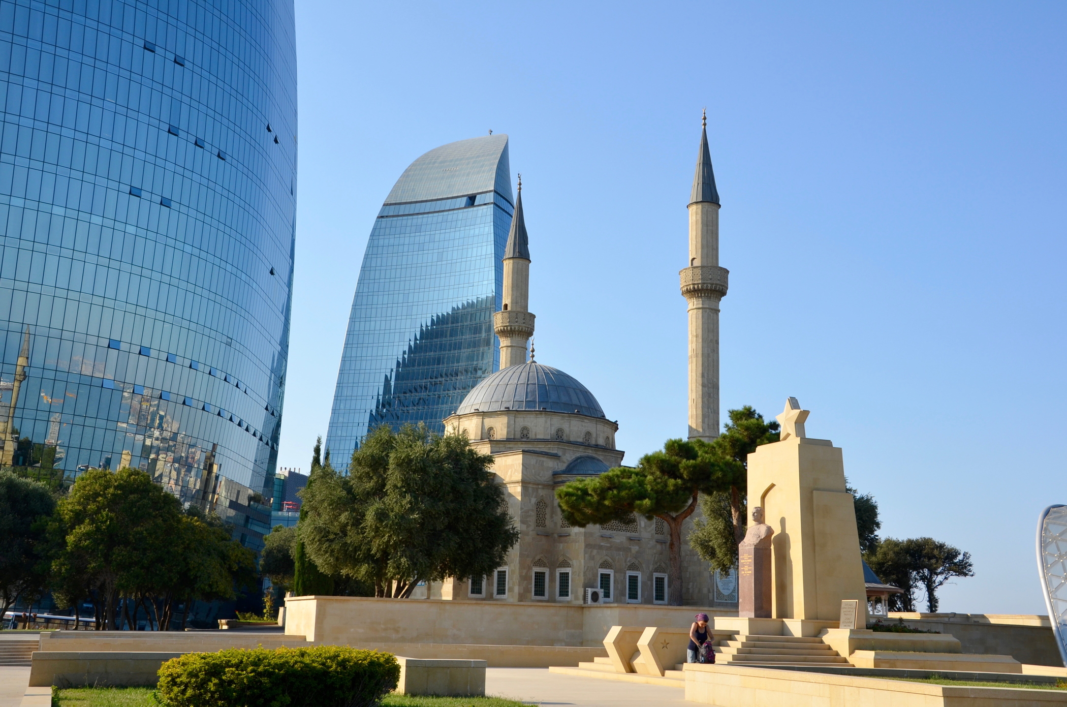 azerbaijan travel baku flame towers