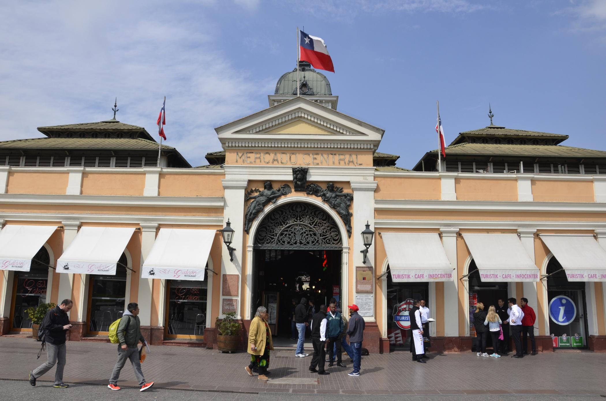 Sehenswürdigkeiten_Chile_Santiago_Mercado - Anekdotique
