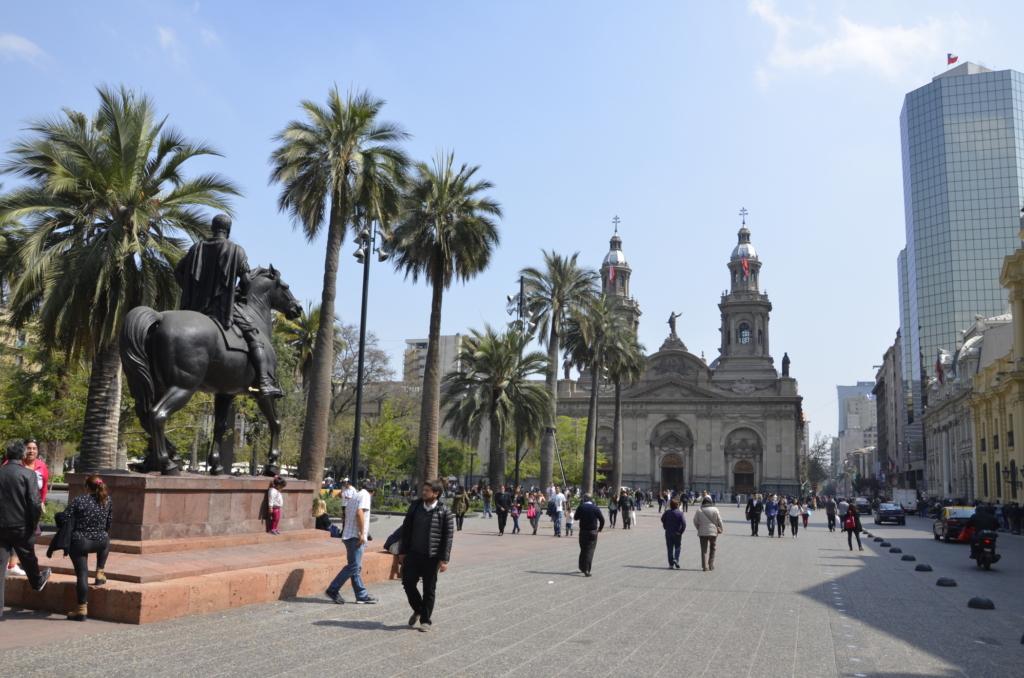 Sehenswürdigkeiten_Chile_Santiago_Platz - Anekdotique