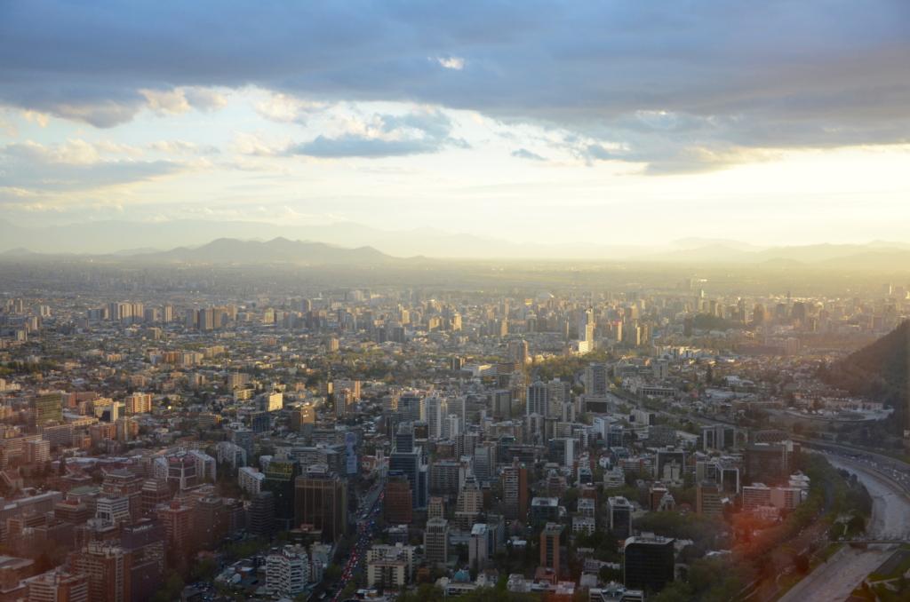 Sehenswürdigkeiten Chile wie hier in Santiago