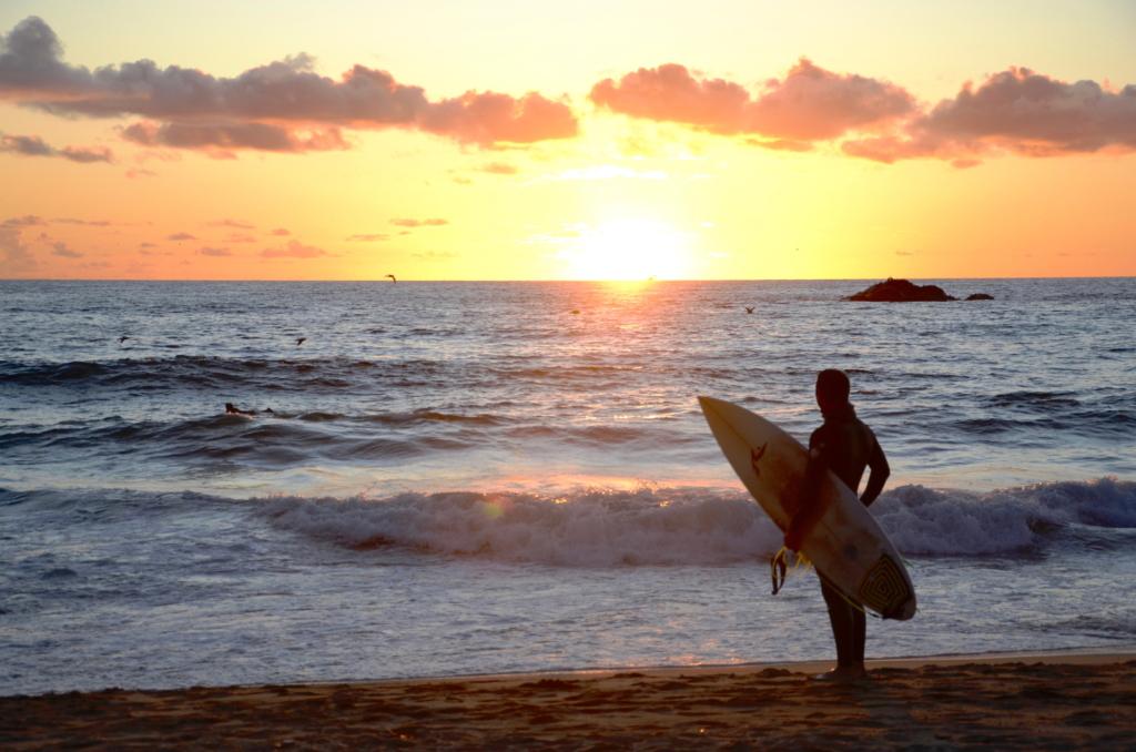 Surfen an der Pazifikküste und andere Sehenswürdigkeiten Chile