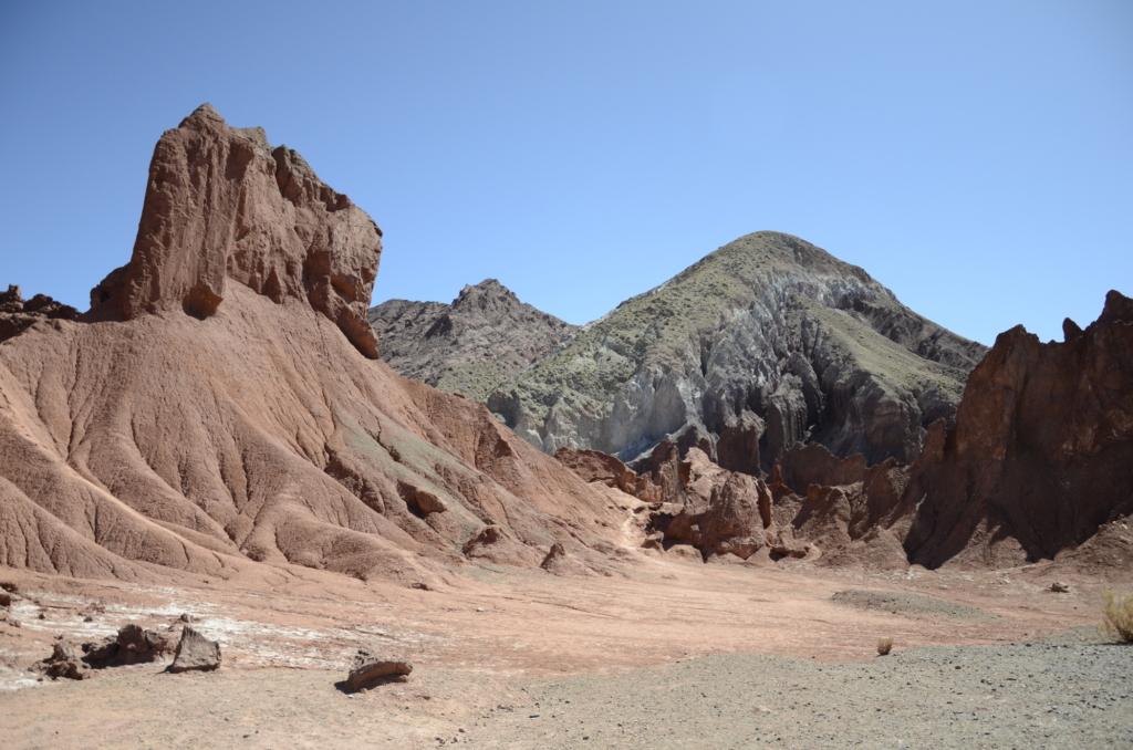 Das Rainbow Valley gehört zu den besten Sehenswürdigkeiten Chile